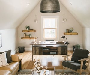 design, home office, and home sweet home image