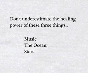 quotes, music, and ocean image