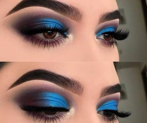amazing, blue, and lashes image