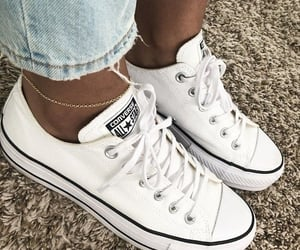 convers, white, and cute image
