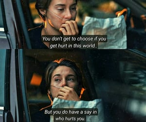 hurt, the fault in our stars, and quotes image