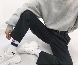 black, sneakers, and instagram image