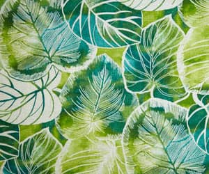 blue, fabric, and green image