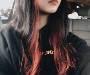 black hair, cool, and hair image