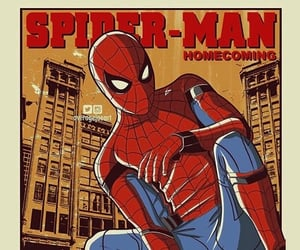 Avengers, homecoming, and spider-man image