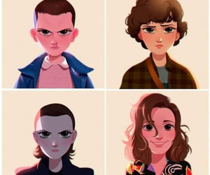 eleven, stranger things, and 11 image
