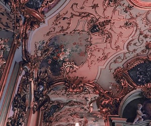 architecture, pink, and art image