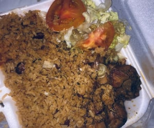 Caribbean, rice, and food image