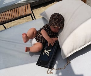 baby, fendi, and Louis Vuitton image