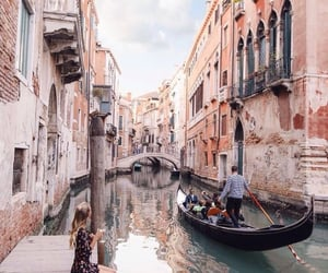 italy, travel, and venice image