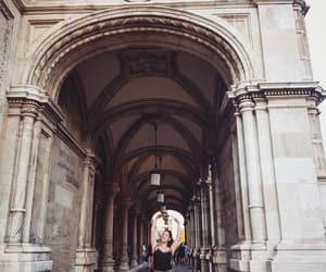 art, travel, and vienna image