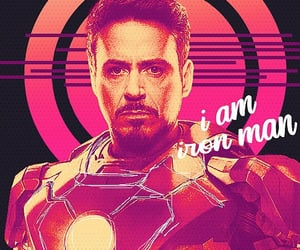 Avengers, film, and iron man image