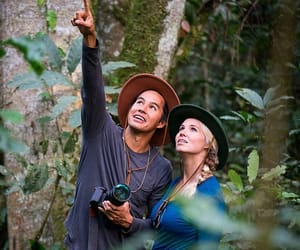 aventure, couple, and nature image