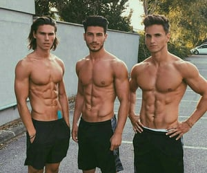 abs, boys, and guy image