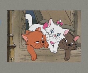 aristocats, berlioz, and black image