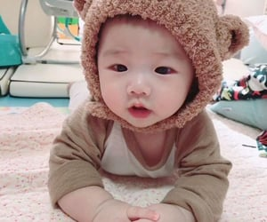 aesthetic, asian, and baby image