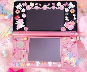 kawaii, nintendo ds, and pink image