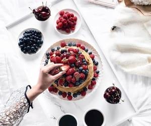 food, breakfast, and berries image