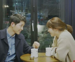 dots, descendants of the sun, and couple image