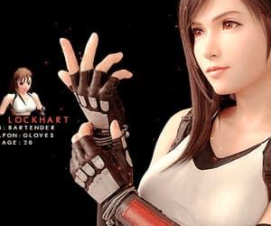 final fantasy 7, video game, and tifa lockheart image