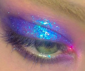 makeup, aesthetic, and eyeshadow image