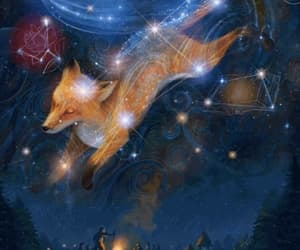 animation, art, and constellation image