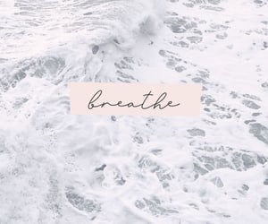 wallpaper, breathe, and ocean image
