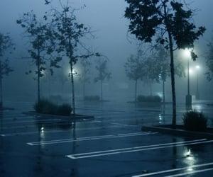 grunge, dark, and rain image