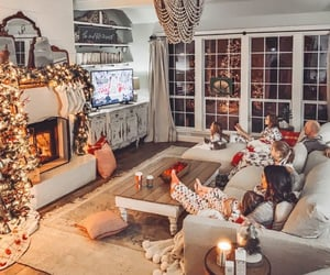 family, vintage, and cozy home image