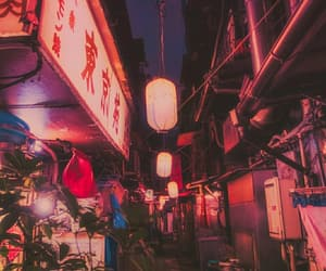 asia, background, and lights image