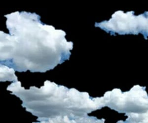 clouds, overlay, and sky image