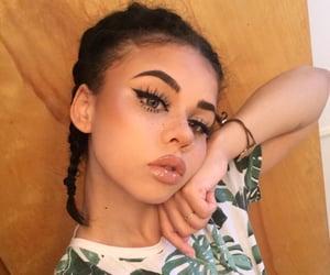braids, cute, and eyelashes image