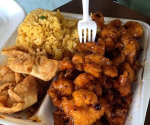 food, Chicken, and chinese image