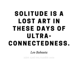 introvert, quotes, and solitude image