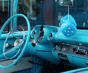 blue, car, and turquoise image
