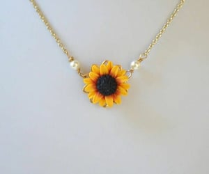 accessories, sunflower, and fashion image