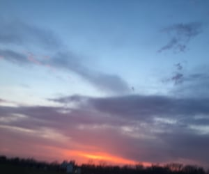 blue, sunset, and yeahyeahyeah image