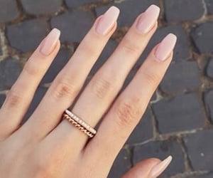 nails, beautiful, and jewelry image
