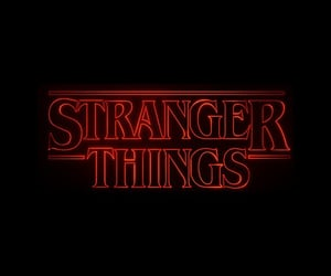 series, netflix, and stranger things image