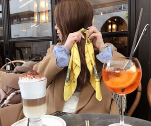 beverage, coffee, and drinks image