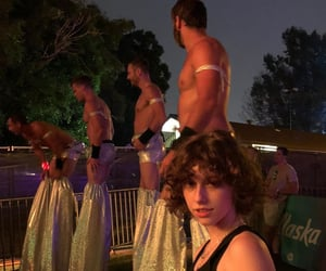 pride, king princess, and mikaela straus image