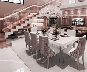 architecture, design, and dining room image
