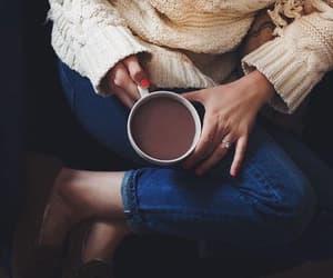 breakfast, coffee, and sweet image