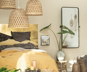bedroom, bohemian, and design image