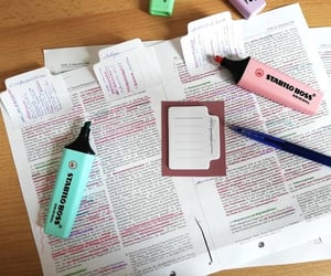 notes, school, and studying image