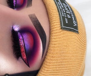 beauty, eyeshadow, and glow image