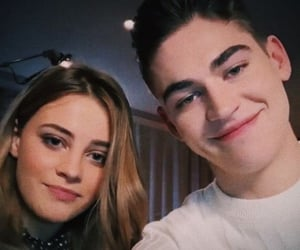 couple, Hot, and hero fiennes-tiffin image