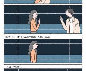 couple, wait, and love image