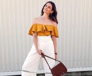 moda, outfit, and purse image
