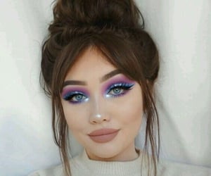 style, makeup, and beautiful image